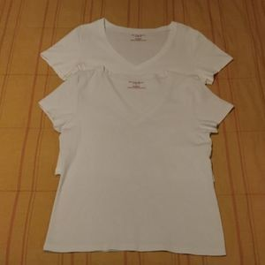(2) Old Navy V-Neck T-shirts